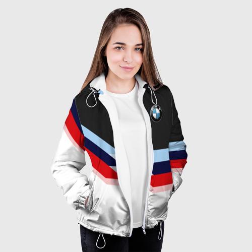 Женская куртка 3D  Фото 04, Бмв | Bmw 2018 Black & White