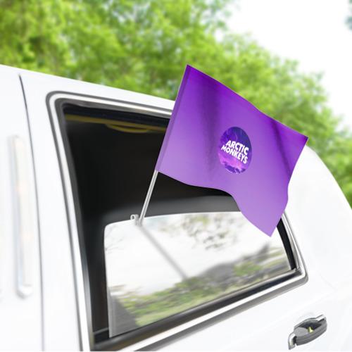 Флаг для автомобиля Arctic Monkeys Фото 01