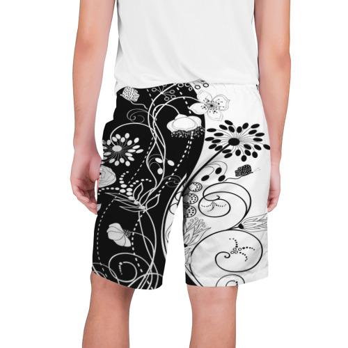 Мужские шорты 3D  Фото 02, Retro flower