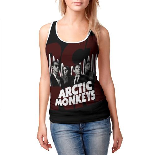 Женская майка 3D  Фото 03, Группа Arctic Monkeys