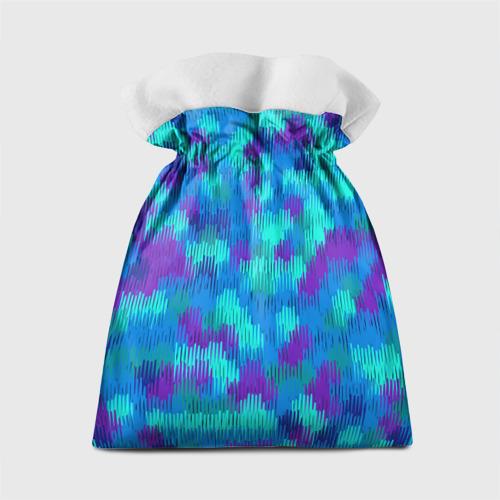 Подарочный 3D мешок  Фото 02, Пятна  из красок