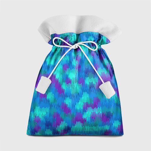 Подарочный 3D мешок  Фото 01, Пятна  из красок