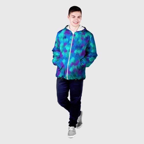 Мужская куртка 3D  Фото 03, Пятна  из красок