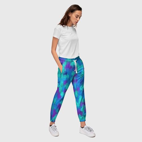 Женские брюки 3D  Фото 03, Пятна  из красок