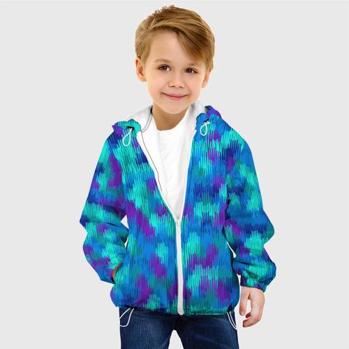 Детская куртка 3D  Фото 03, Пятна  из красок