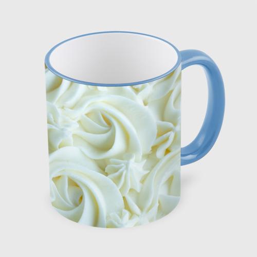 Кружка с полной запечаткой Milk Flowers