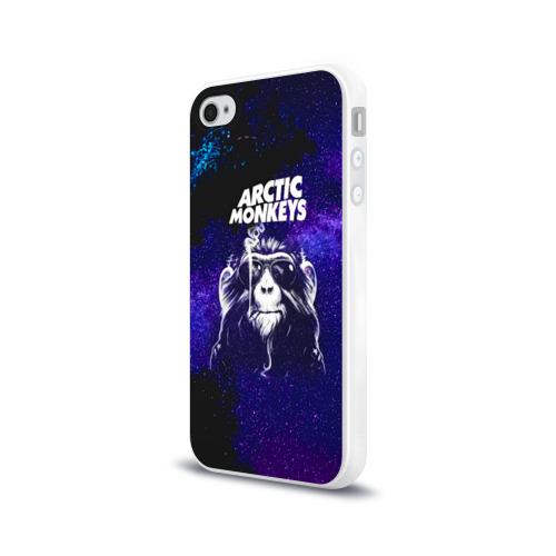 Чехол для Apple iPhone 4/4S силиконовый глянцевый Arctic Monkeys Фото 01