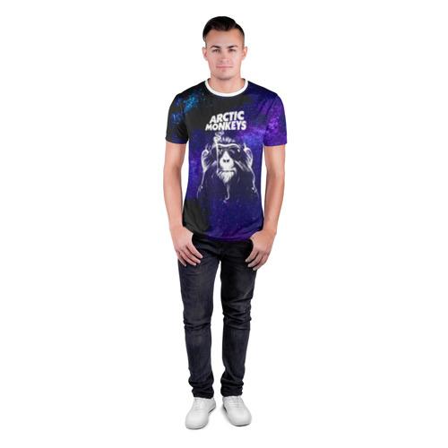 Мужская футболка 3D спортивная  Фото 04, Arctic Monkeys