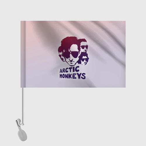 Флаг для автомобиля Группа Arctic Monkeys Фото 01