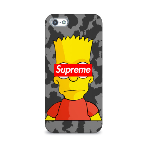 Чехол для Apple iPhone 5/5S 3D  Фото 01, Supreme Simpsons #8