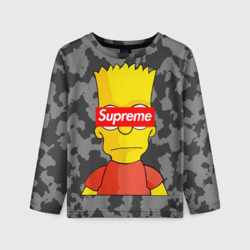 Детский лонгслив 3D Supreme Simpsons #8 Фото 01
