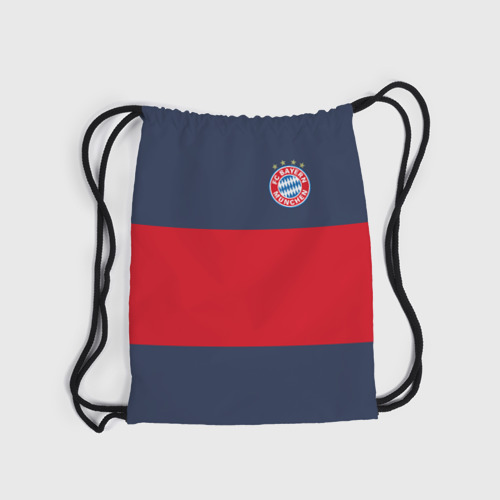Рюкзак-мешок 3D  Фото 04, Bayern Munchen - Red-Blue FCB (2018 NEW)