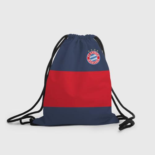 Рюкзак-мешок 3D  Фото 01, Bayern Munchen - Red-Blue FCB (2018 NEW)