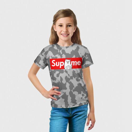 Детская футболка 3D  Фото 03, Supreme Ripndip #1