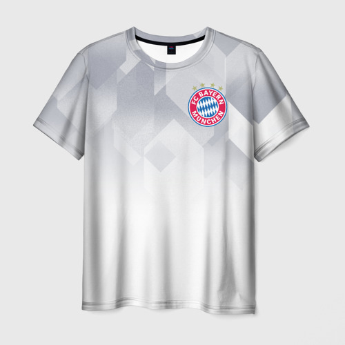 Мужская футболка 3D  Фото 01, Bayern Munchen - Fresh Design (2018 NEW)