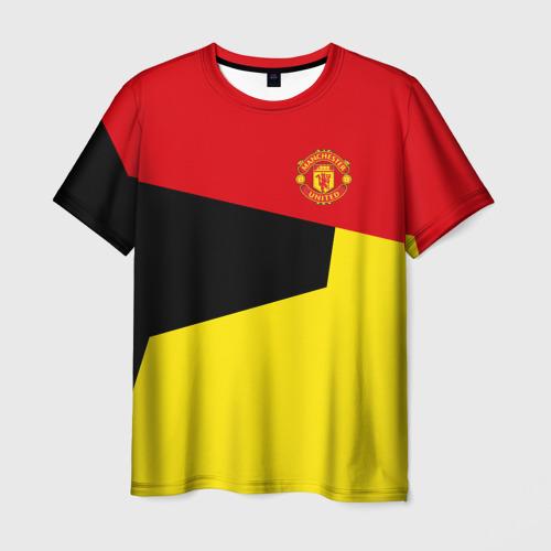 Мужская футболка 3D  Фото 01, Manchester United 2018 #11
