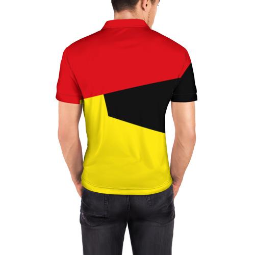 Мужская рубашка поло 3D  Фото 04, Manchester United 2018 #11