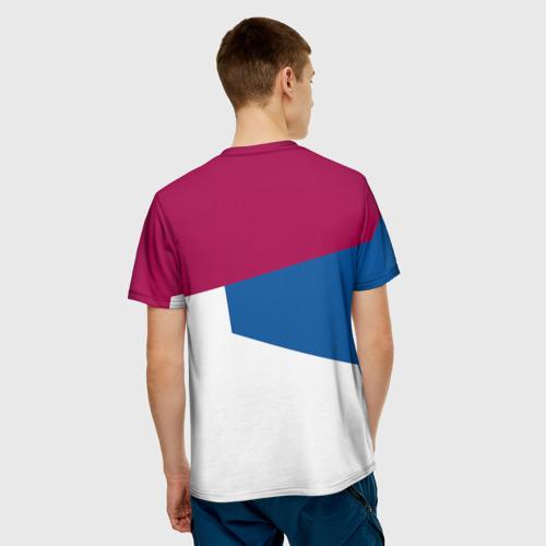 Мужская футболка 3D  Фото 02, FC Barcelona 2018 #4