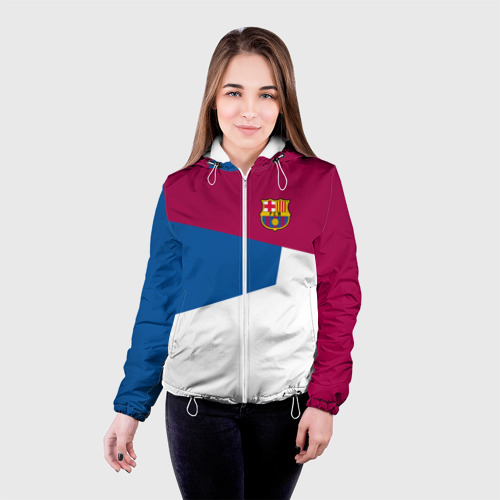 Женская куртка 3D FC Barcelona 2018 #4 Фото 01