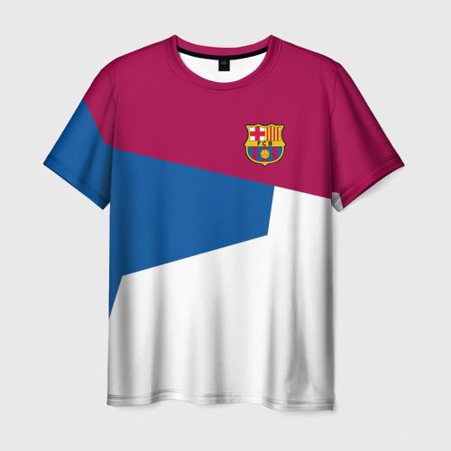 Мужская футболка 3D  Фото 01, FC Barcelona 2018 #4