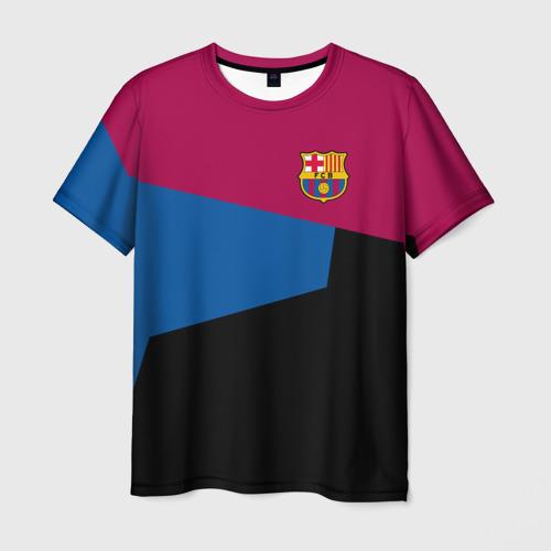 Мужская футболка 3D  Фото 01, FC Barcelona 2018 #5