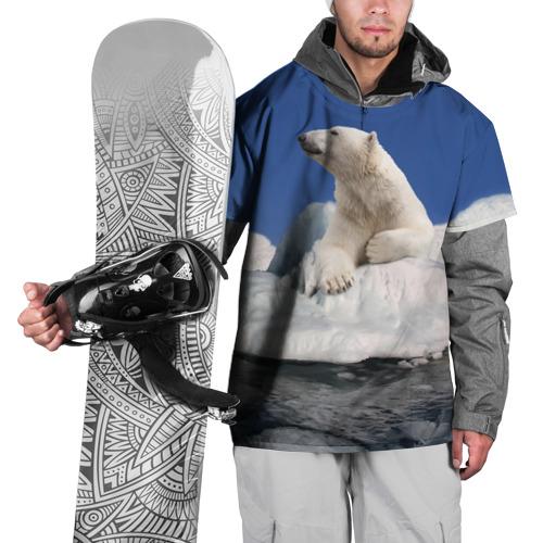 Накидка на куртку 3D  Фото 01, Арктика