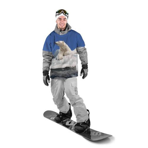 Накидка на куртку 3D  Фото 03, Арктика