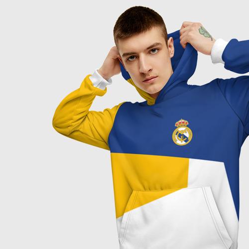 Мужская толстовка 3D  Фото 01, Real Madrid 2018 #6