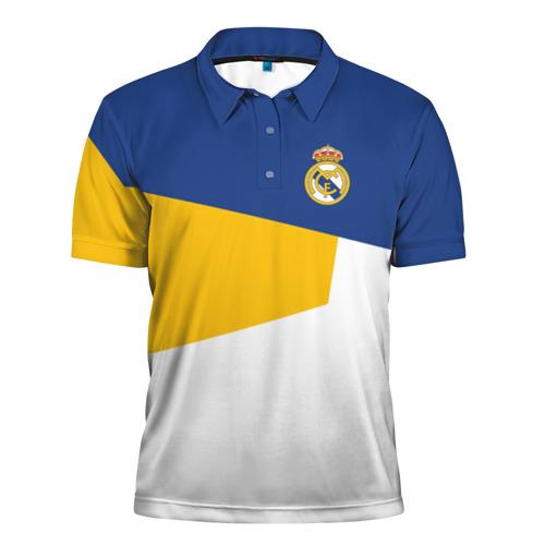 Мужская рубашка поло 3D  Фото 01, Real Madrid 2018 #6