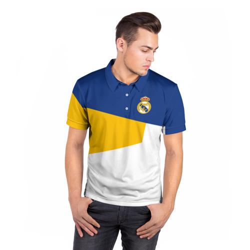 Мужская рубашка поло 3D  Фото 05, Real Madrid 2018 #6