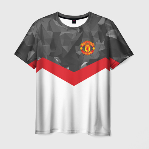 Мужская футболка 3D  Фото 01, Manchester United 2018 #16