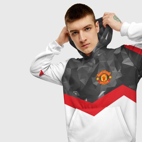 Мужская толстовка 3D Manchester United 2018 16