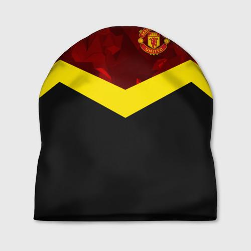 Шапка 3D  Фото 01, Manchester United 2018 #17