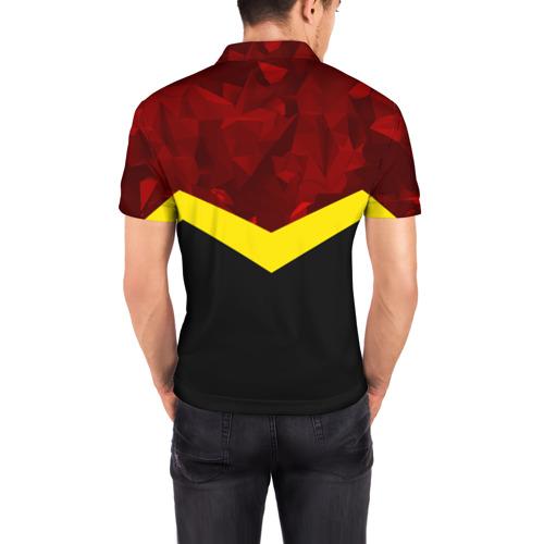 Мужская рубашка поло 3D  Фото 04, Manchester United 2018 #17