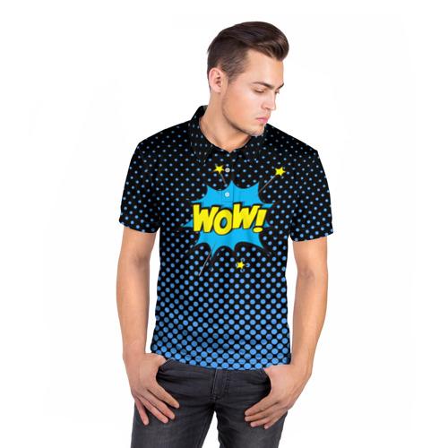 Мужская рубашка поло 3D  Фото 05, Вау!