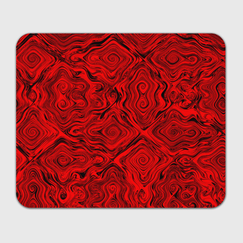 Коврик для мышки прямоугольный  Фото 01, Tie-Dye red