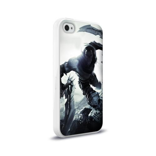 Чехол для Apple iPhone 4/4S силиконовый глянцевый  Фото 02, Darksiders 2