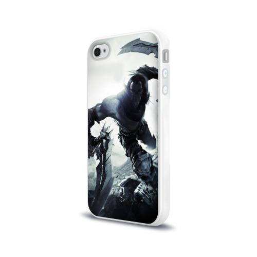 Чехол для Apple iPhone 4/4S силиконовый глянцевый  Фото 03, Darksiders 2