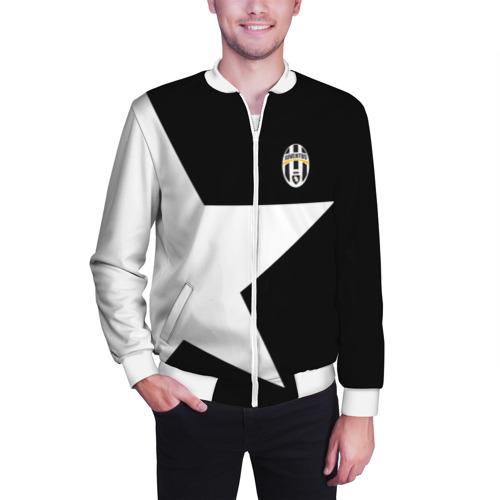 Мужской бомбер 3D  Фото 03, Juventus | Ювентус 2018