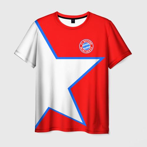 Мужская футболка 3D  Фото 01, ФК Бавария 2018