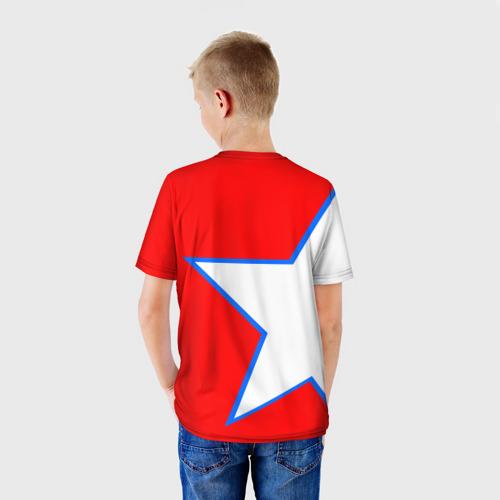 Детская футболка 3D  Фото 02, ФК Бавария 2018