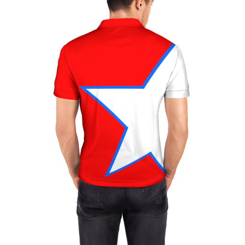Мужская рубашка поло 3D  Фото 04, ФК Бавария 2018