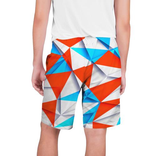 Мужские шорты 3D  Фото 02, Треугольники
