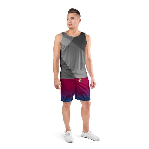 Мужские шорты 3D спортивные  Фото 04, Real Madrid 2018 Military 2
