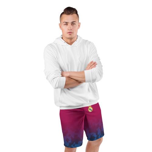 Мужские шорты 3D спортивные  Фото 05, Real Madrid 2018 Military 2