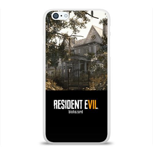 Чехол для Apple iPhone 6Plus/6SPlus силиконовый глянцевый  Фото 01, Resident Evil