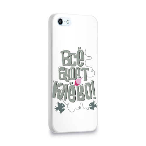 Чехол для Apple iPhone 5/5S 3D  Фото 02, Все будет клево!