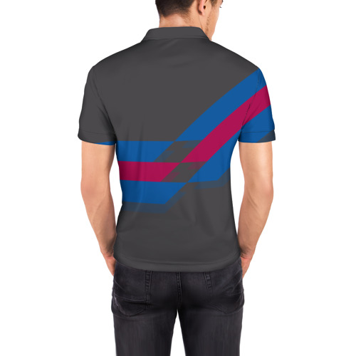 Мужская рубашка поло 3D  Фото 04, FC Barcelona #7