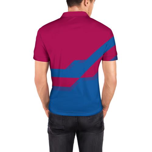 Мужская рубашка поло 3D  Фото 04, FC Barcelona #5