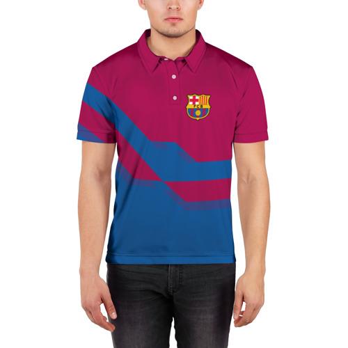 Мужская рубашка поло 3D  Фото 03, FC Barcelona #5